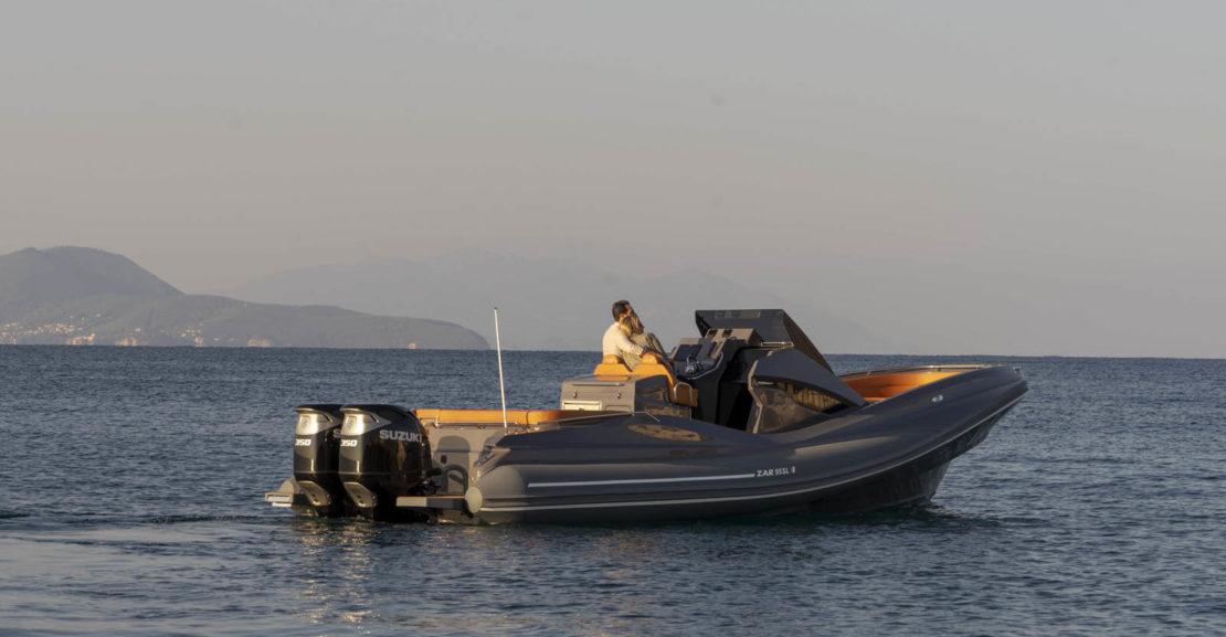 Capitaine Plaisance concessionnaire-vente Semi rigide ZAR 95 Sport Luxury frejus saint raphael sainte maxime