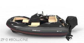 Capitaine Plaisance concessionnaire-vente Annexe bateau yacht Zar Tender ZF0 hord bord