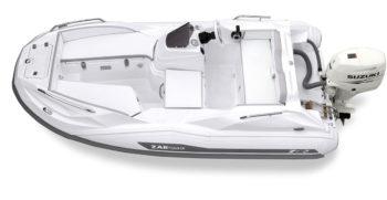 Capitaine Plaisance concessionnaire-vente Annexe bateau yacht Zar Tender ZF2 hord bord