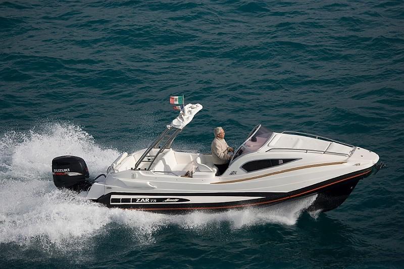 ZAR 73 SKYDECK Outboard version