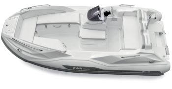 Capitaine Plaisance concessionnaire-vente Annexe bateau yacht Zar Tender ZF5 hord bord